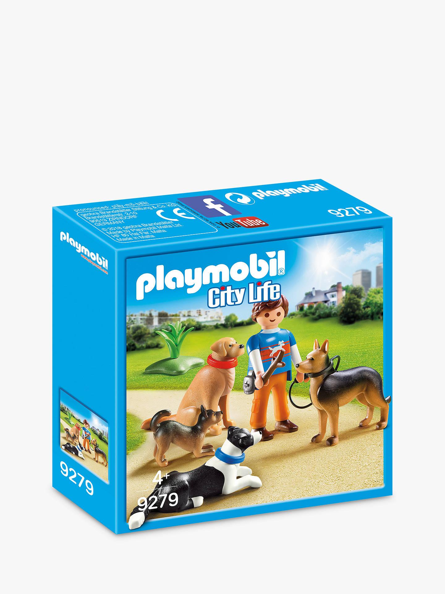 playmobil city life 9279 dog trainer at john lewis  partners