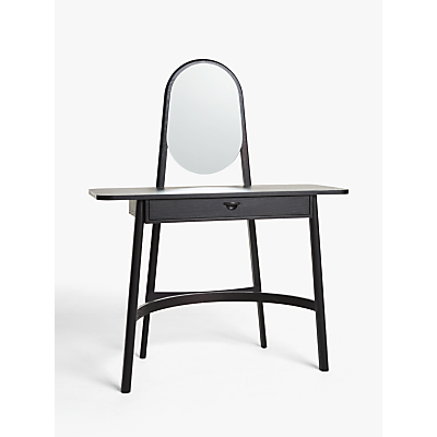 John Lewis & Partners Rattan Dressing Table and Mirror