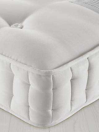 John Lewis & Partners Natural Collection Fleece Wool 8400, King Size, Firm Tension Pocket Spring Mattress