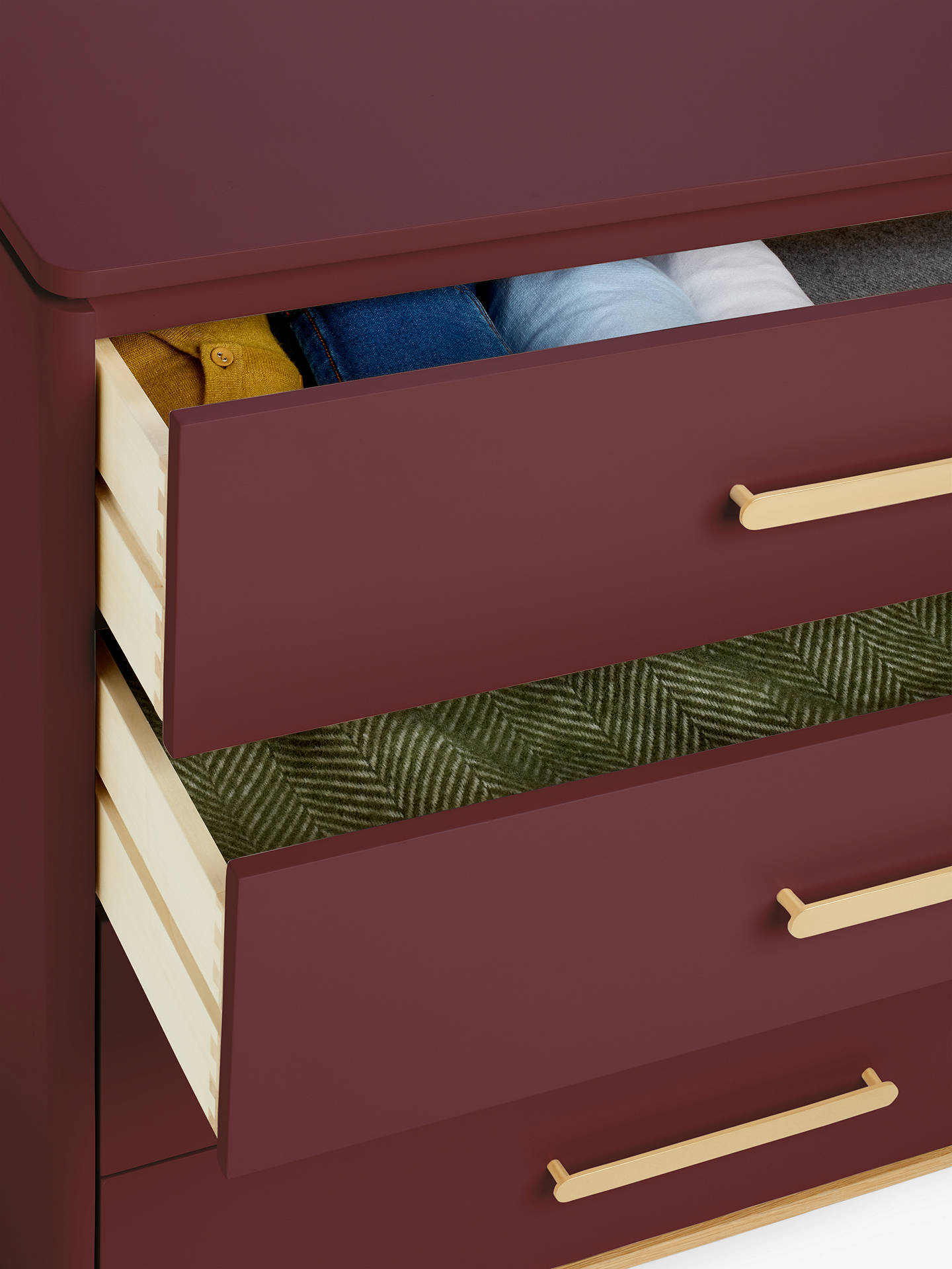 John Lewis Partners Show Wood 4 Drawer Chest At John Lewis Partners