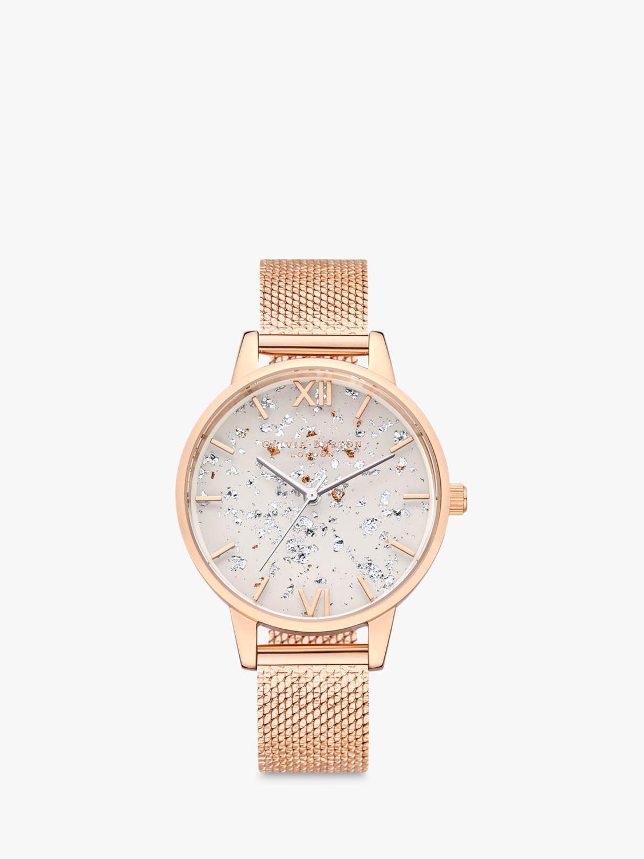 Olivia Burton Olivia Burton Women's Celestial Mesh Bracelet Strap Watch