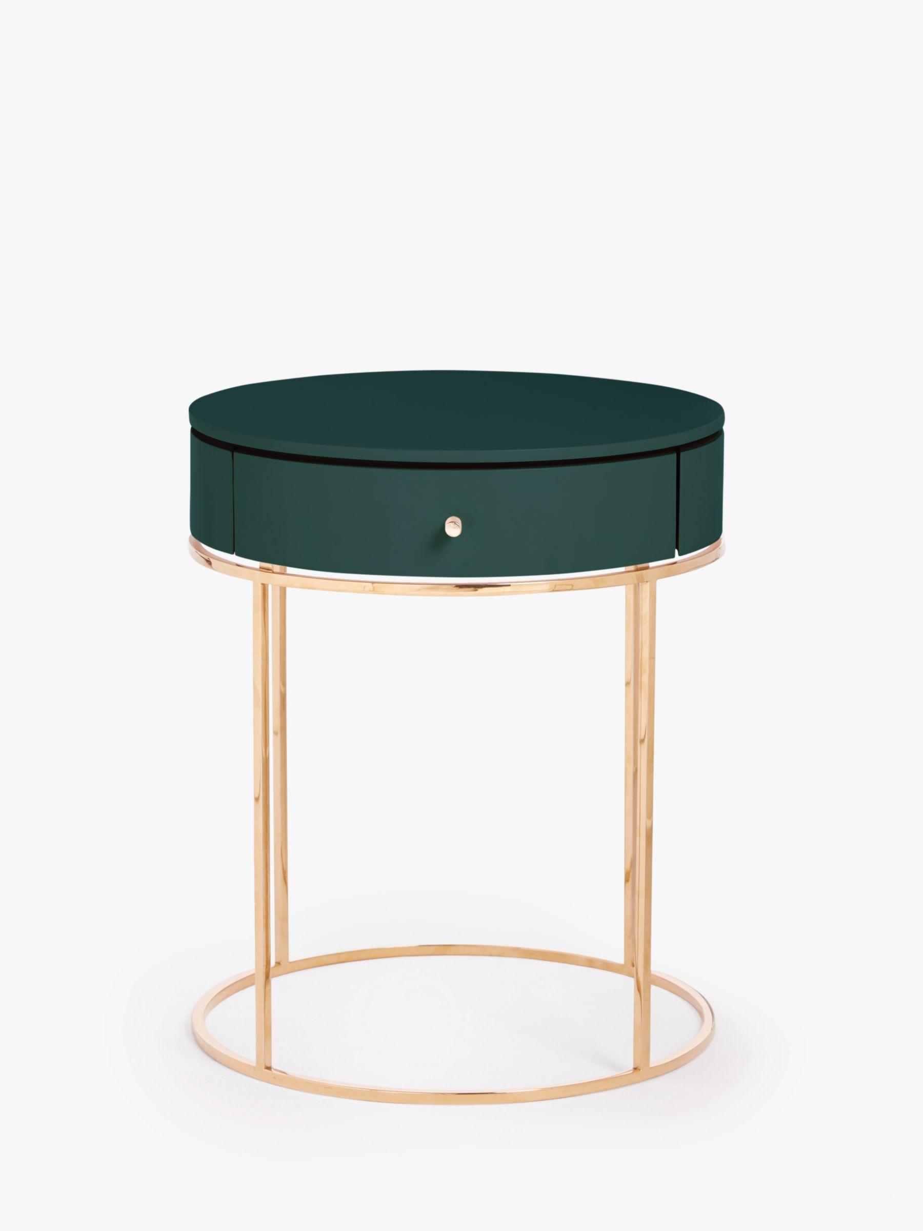John Lewis & Partners Show Wood Bedside Table