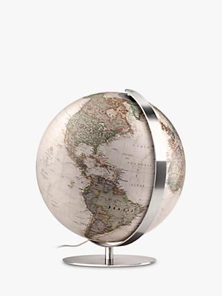 National Geographic Antique Earth Illuminated Globe, 37cm, Brown/Multi