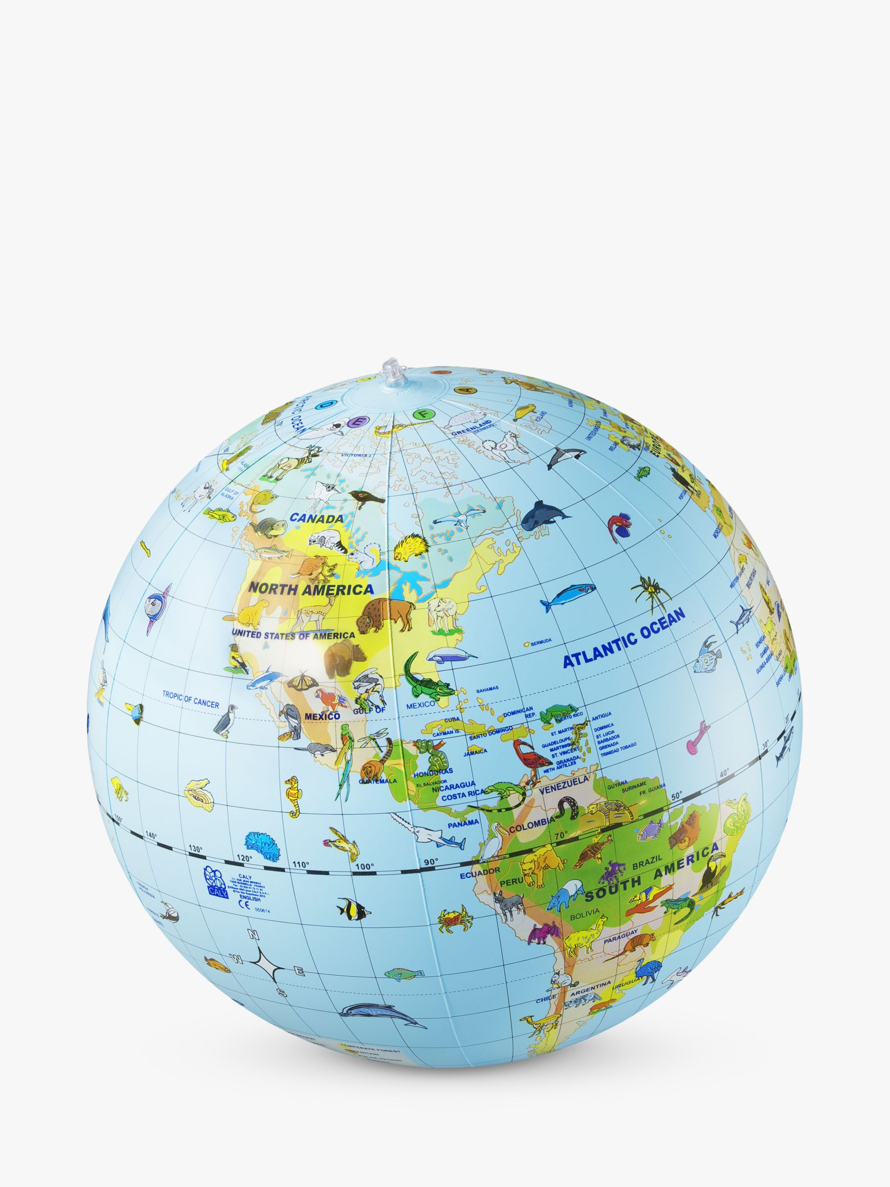 National Geographic National Geographic Inflatable Animal Globe