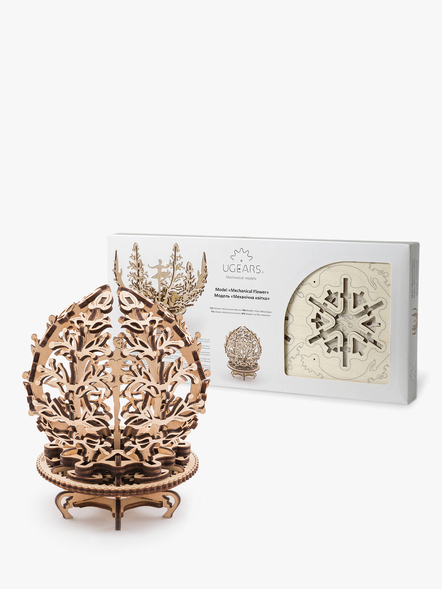 UGears Mechanical Flower 3D Puzzle Kit