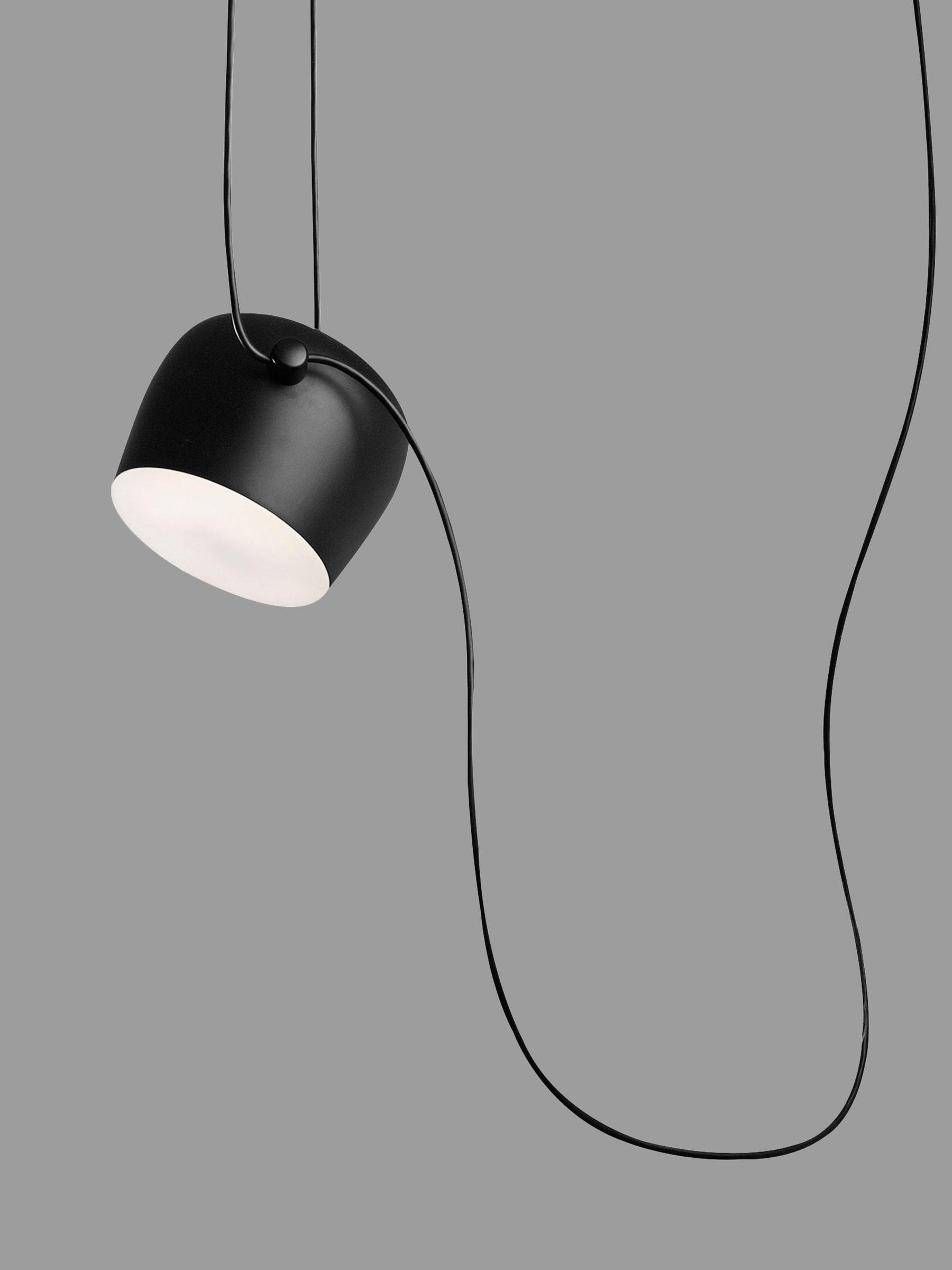 Flos Flos Aim Suspension LED Ceiling Light, Black
