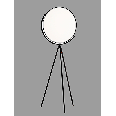 Flos Superloon LED Touch Floor Lamp, Matt Black
