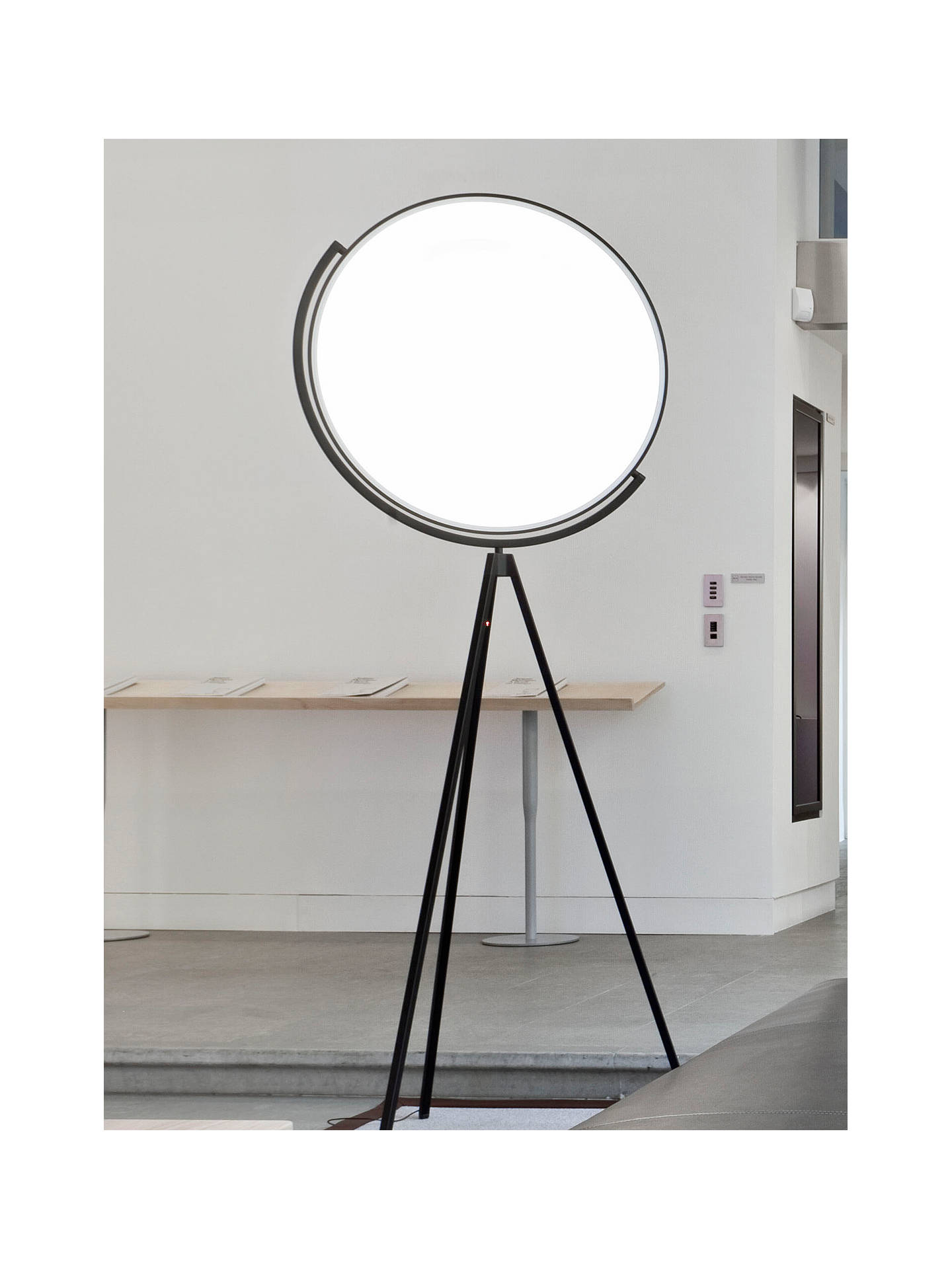 best website f889b 02041 Flos Superloon LED Touch Floor Lamp, Matt Black