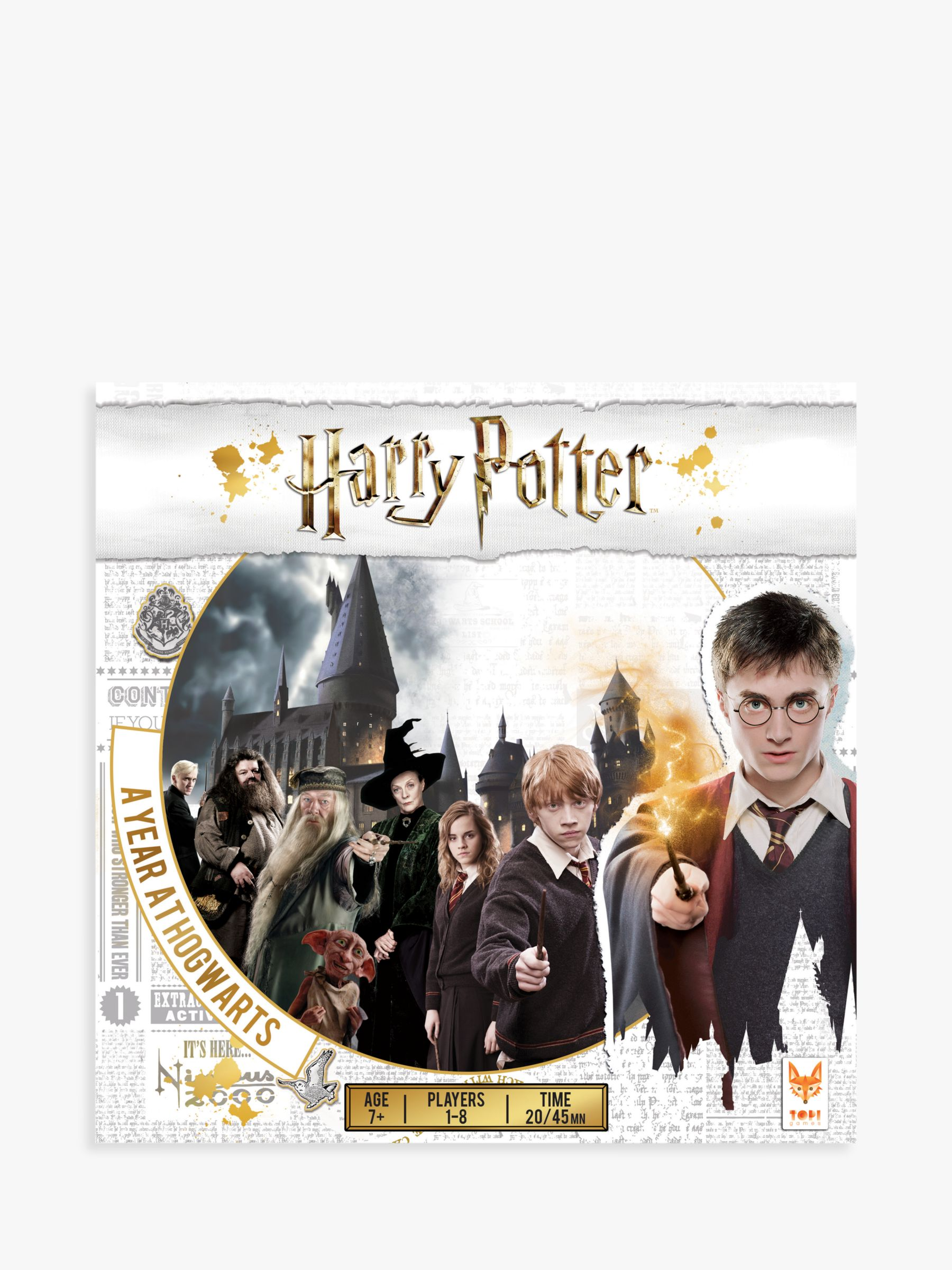 Esdevium Harry Potter A Year At Hogwarts Board Game