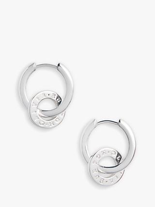 Olivia Burton Interlink Hoop Earrings