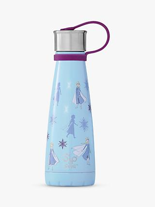 S'ip by S'well Disney Frozen Elsa Vacuum Insulated Drinks Bottle, 295ml, Blue