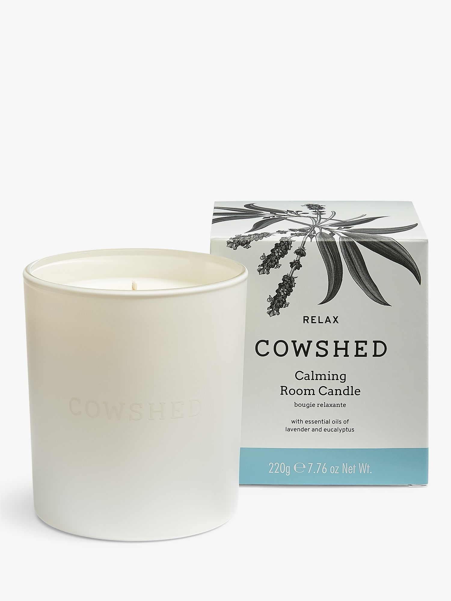 Cowshed Cowshed Relax Calming Room Candle, 220g
