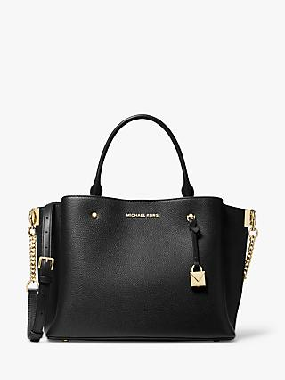 MICHAEL Michael Kors Arielle Large Leather Satchel Bag
