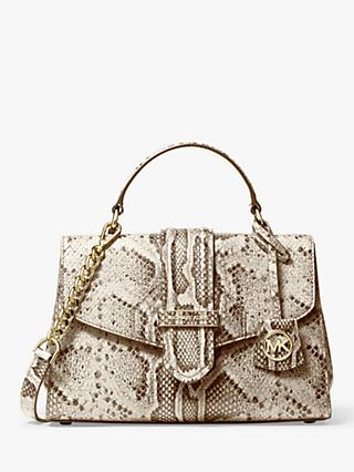 MICHAEL Michael Kors Bleecker Leather Satchel Bag