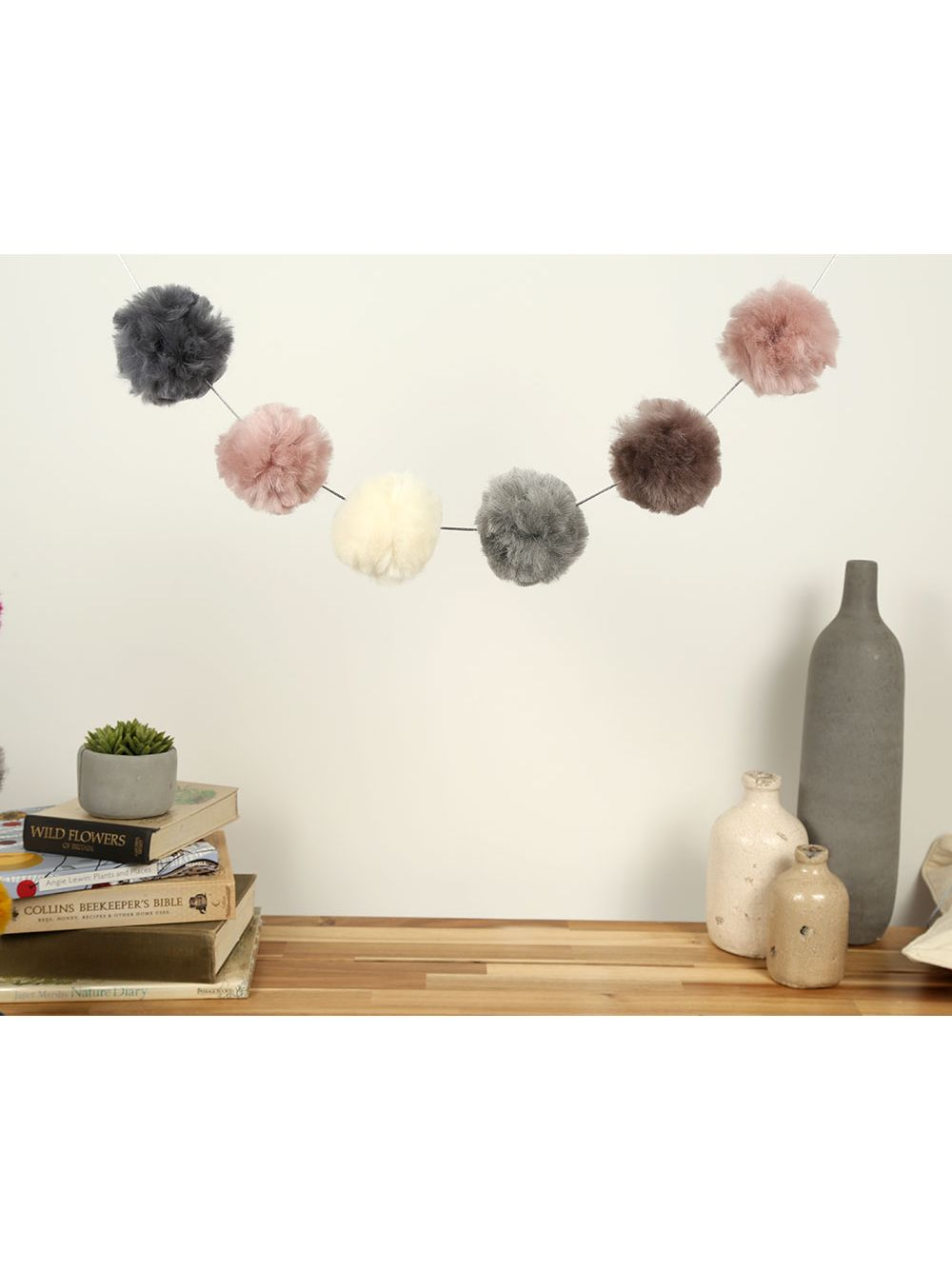Wool Couture Pom Pom Garland Craft Kit At John Lewis Partners