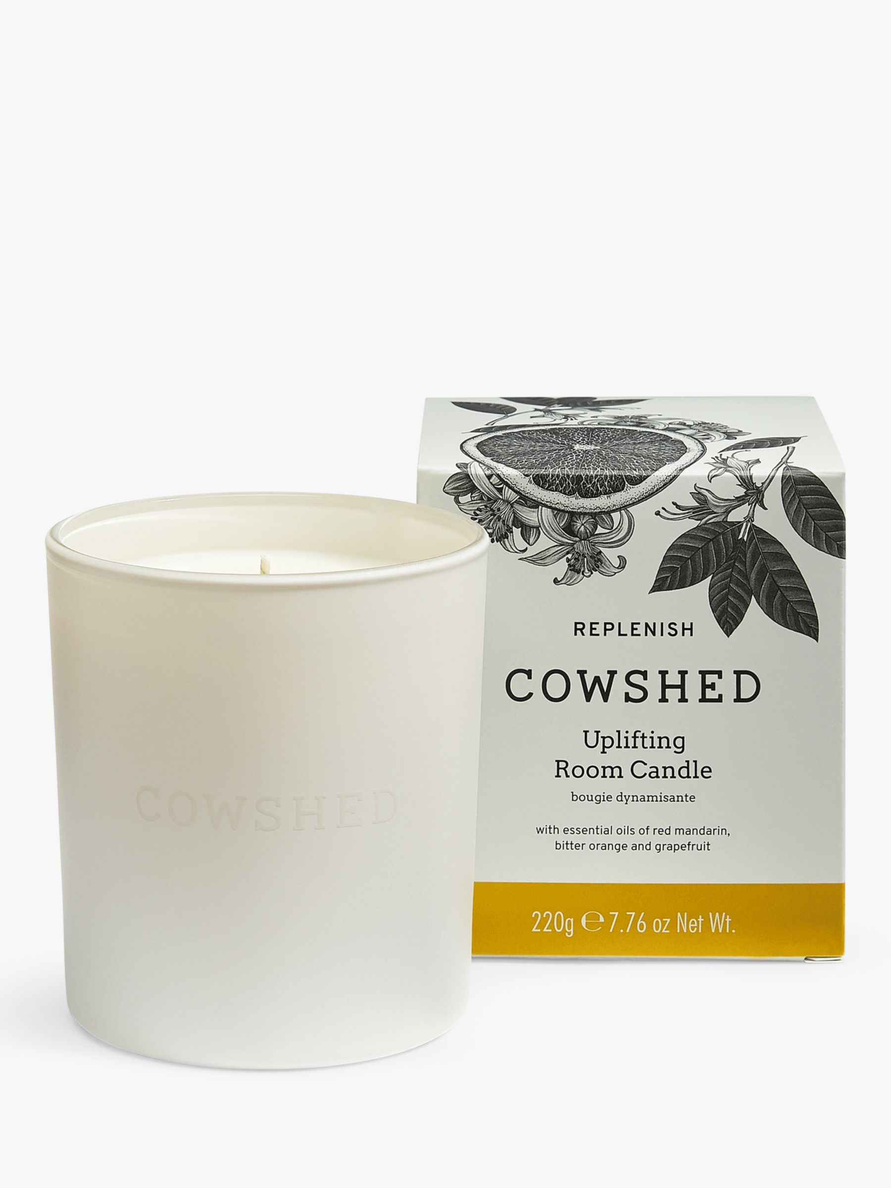 Cowshed Cowshed Replenish Uplifting Candle, 220g