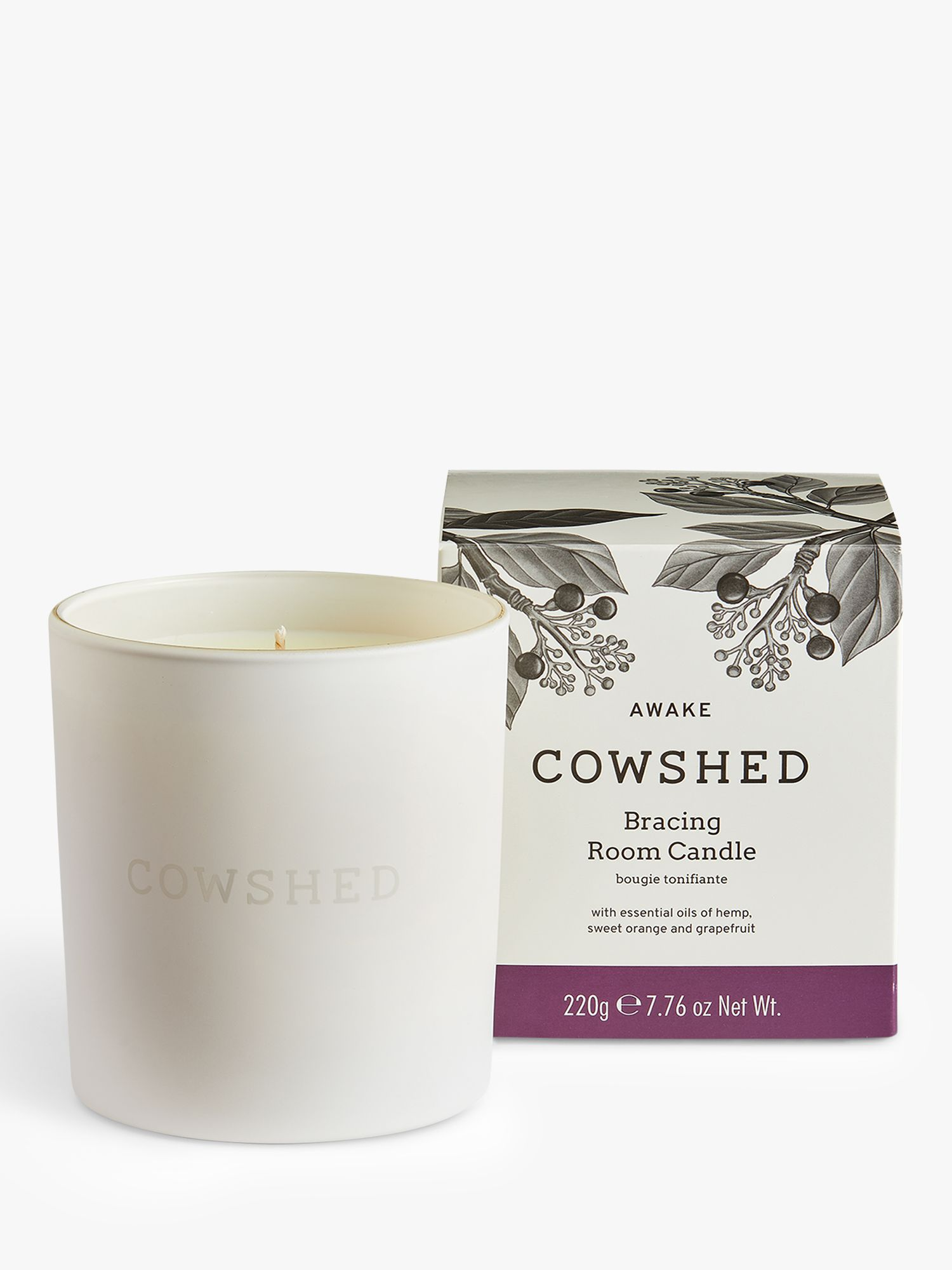 Cowshed Cowshed Awake Bracing Room Candle, 230g