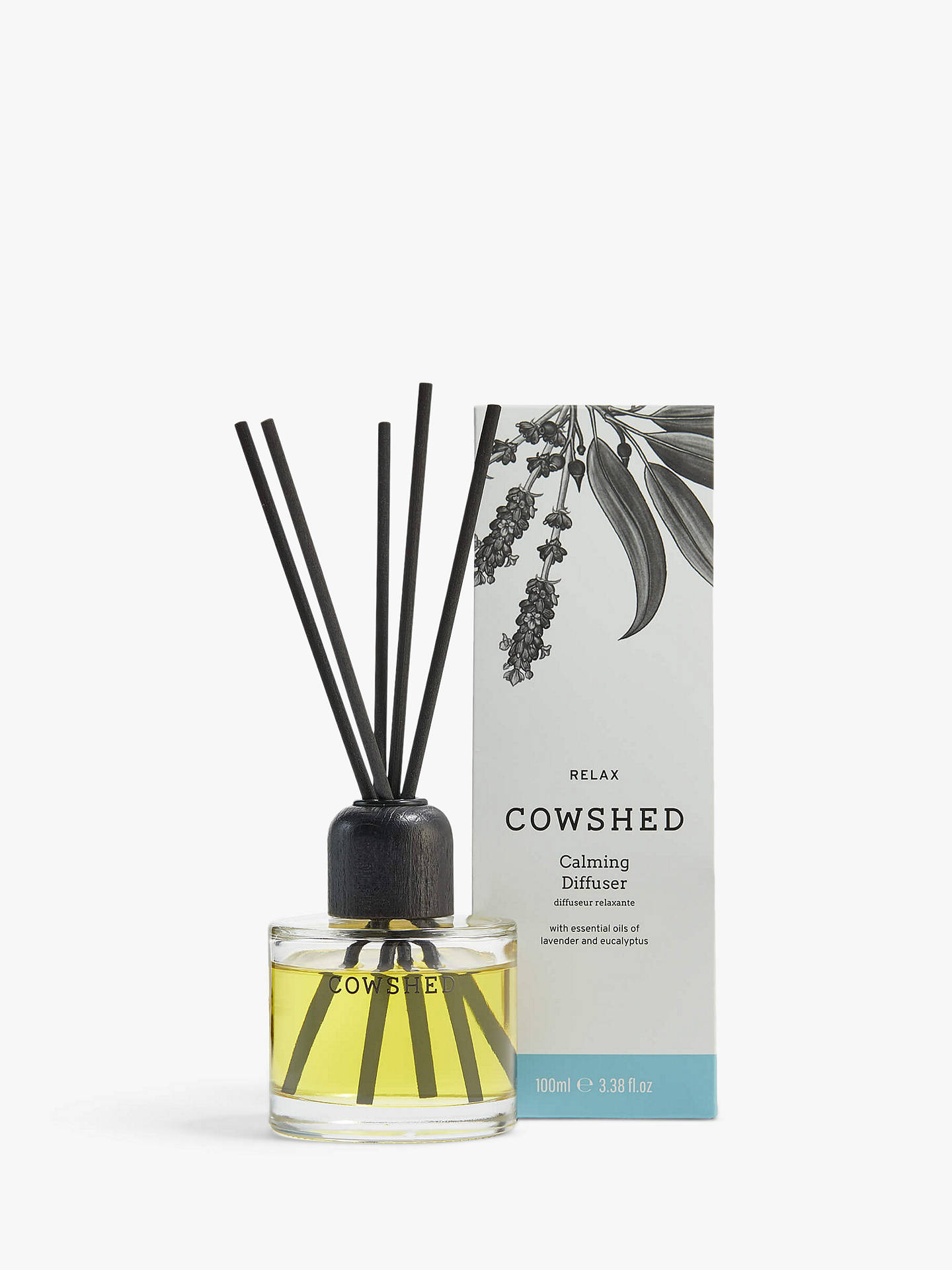 Buy Cowshed Relax Calming Diffuser, 100ml Online at johnlewis.com