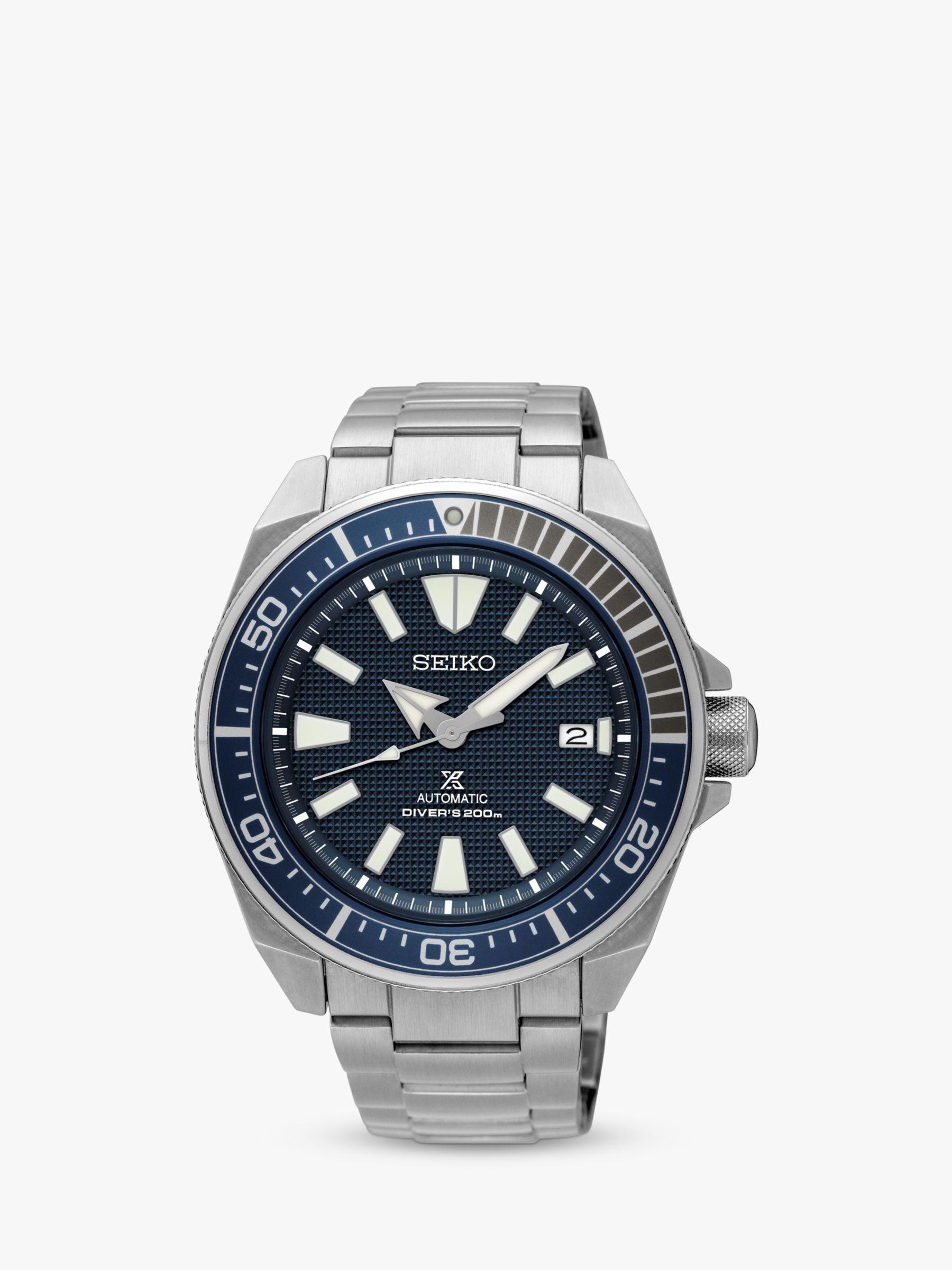 Seiko Seiko Men's Prospex Samurai Tuna Automatic Bracelet Strap Watch