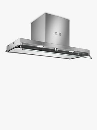 Neff D94XAF8N0B Integrated Canopy Box Cooker Hood, 90cm, Grey/Stainless Steel