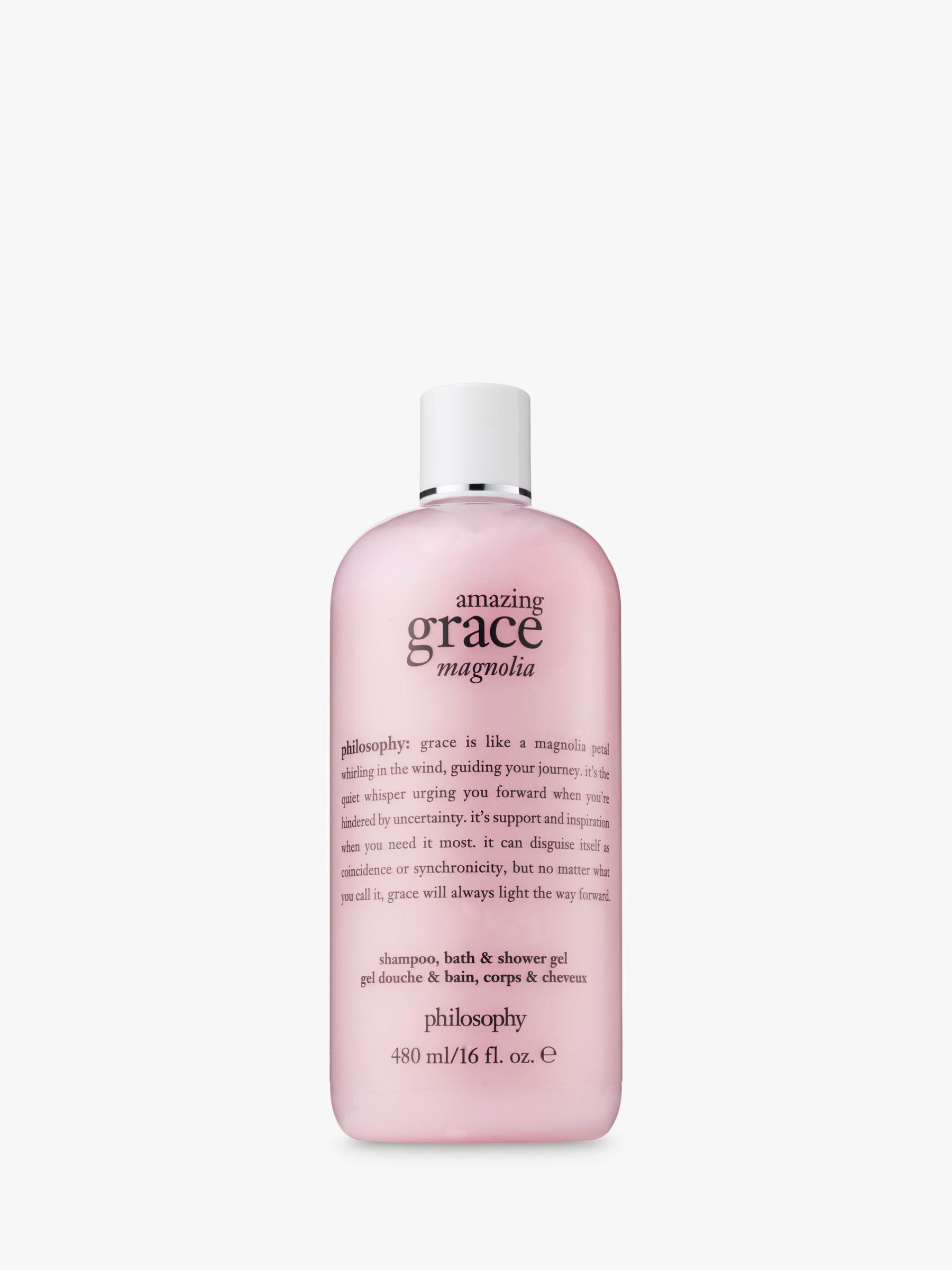 Philosophy Philosophy Amazing Grace Magnolia Shampoo, Bath & Shower Gel, 480ml
