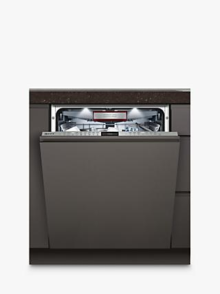 Neff S517T80D6E Integrated Dishwasher, A+++ Energy Rating, Grey