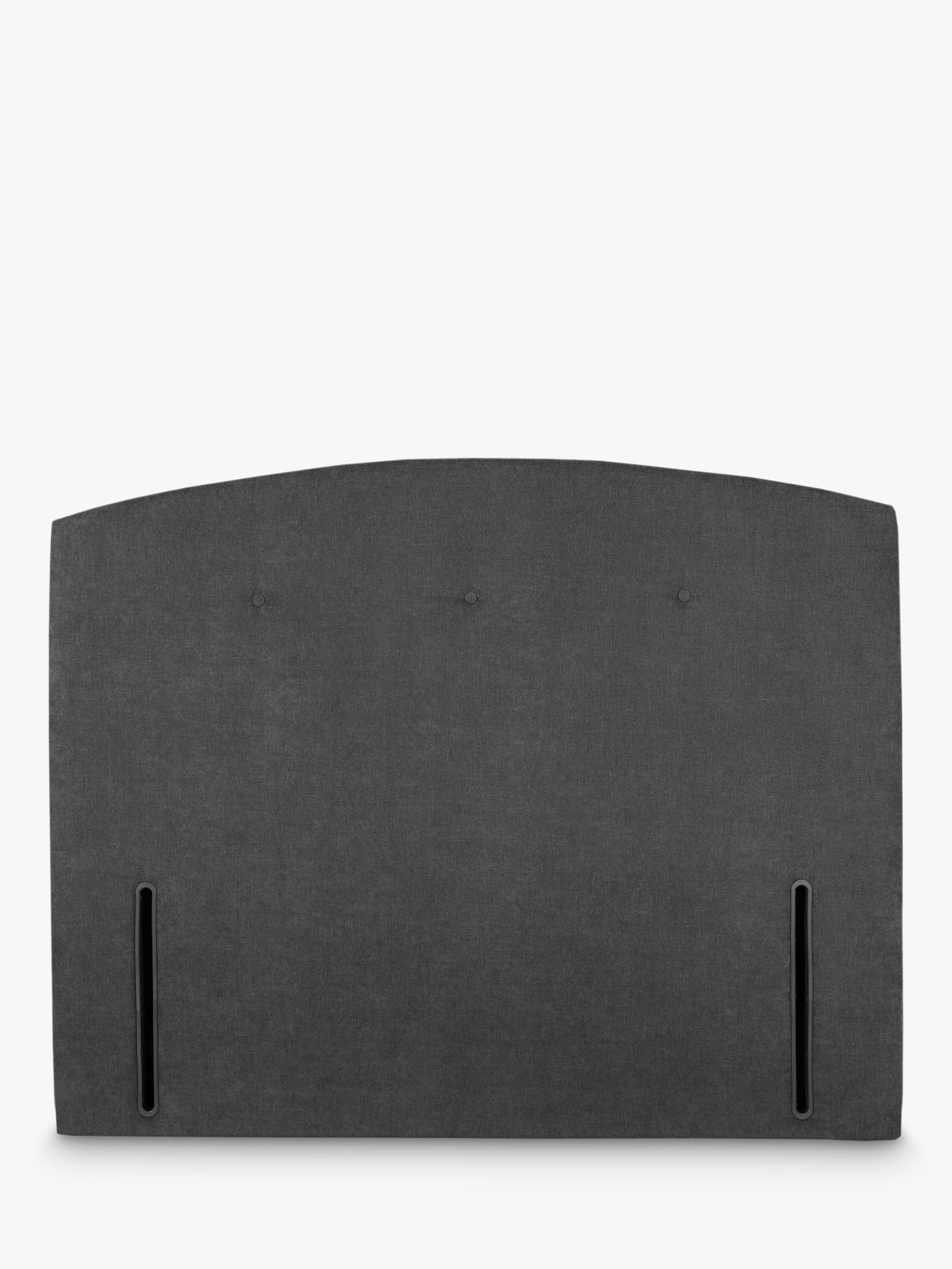 John Lewis & Partners Grace Full Depth Upholstered Headboard, Super King Size