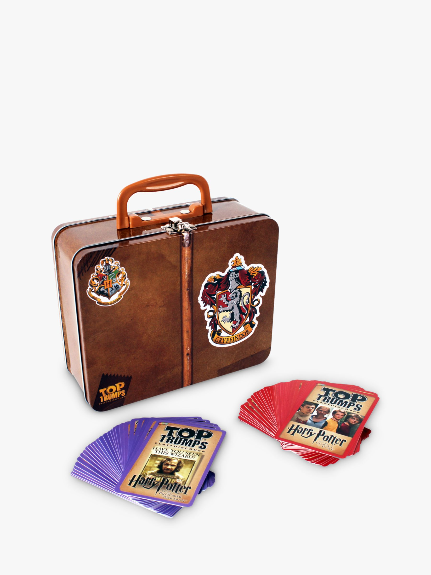 Top Trumps Harry Potter Top Gryffindor Trumps And Collectors Tin