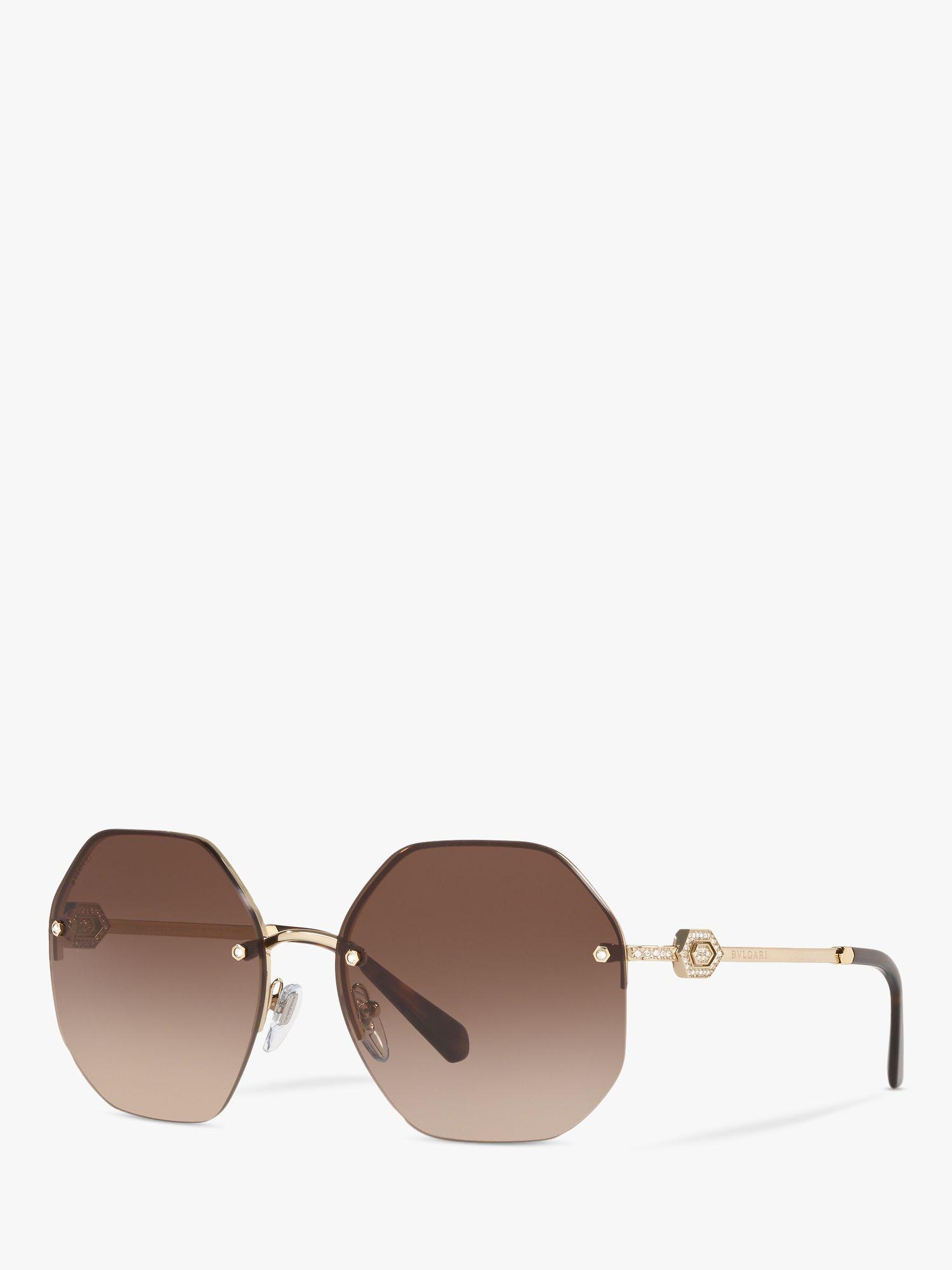 Bvlgari BVLGARI BV6122B Women's Irregular Oval Sunglasses