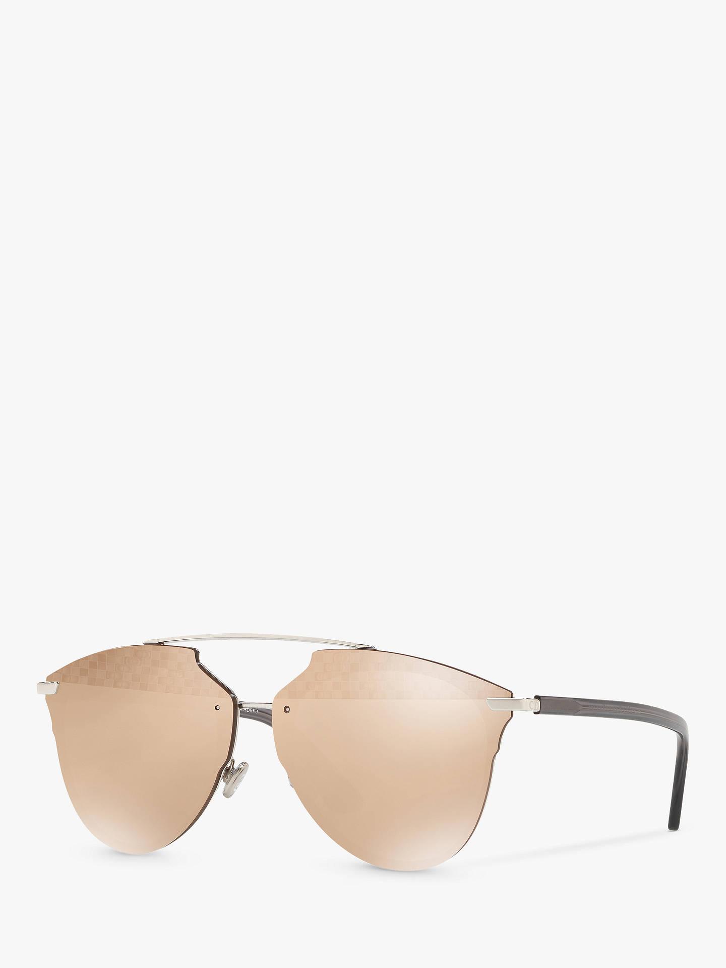 8aa0596cb7bb Buy Dior DiorReflectedP Geometric Sunglasses, Silver/Mirror Gold Online at  johnlewis.com ...