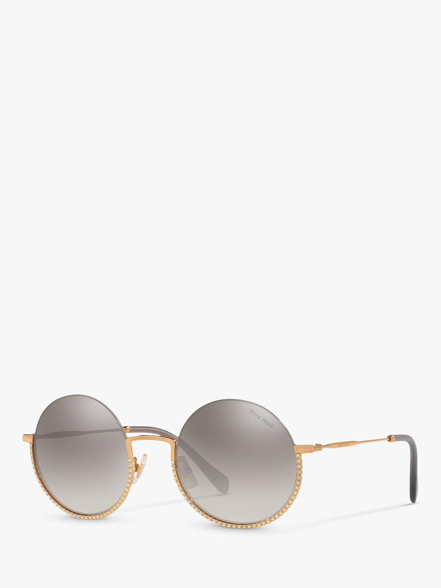 miu-miu-mu-69us-womens-embellished-round-sunglasses,-gold_grey by miu-miu