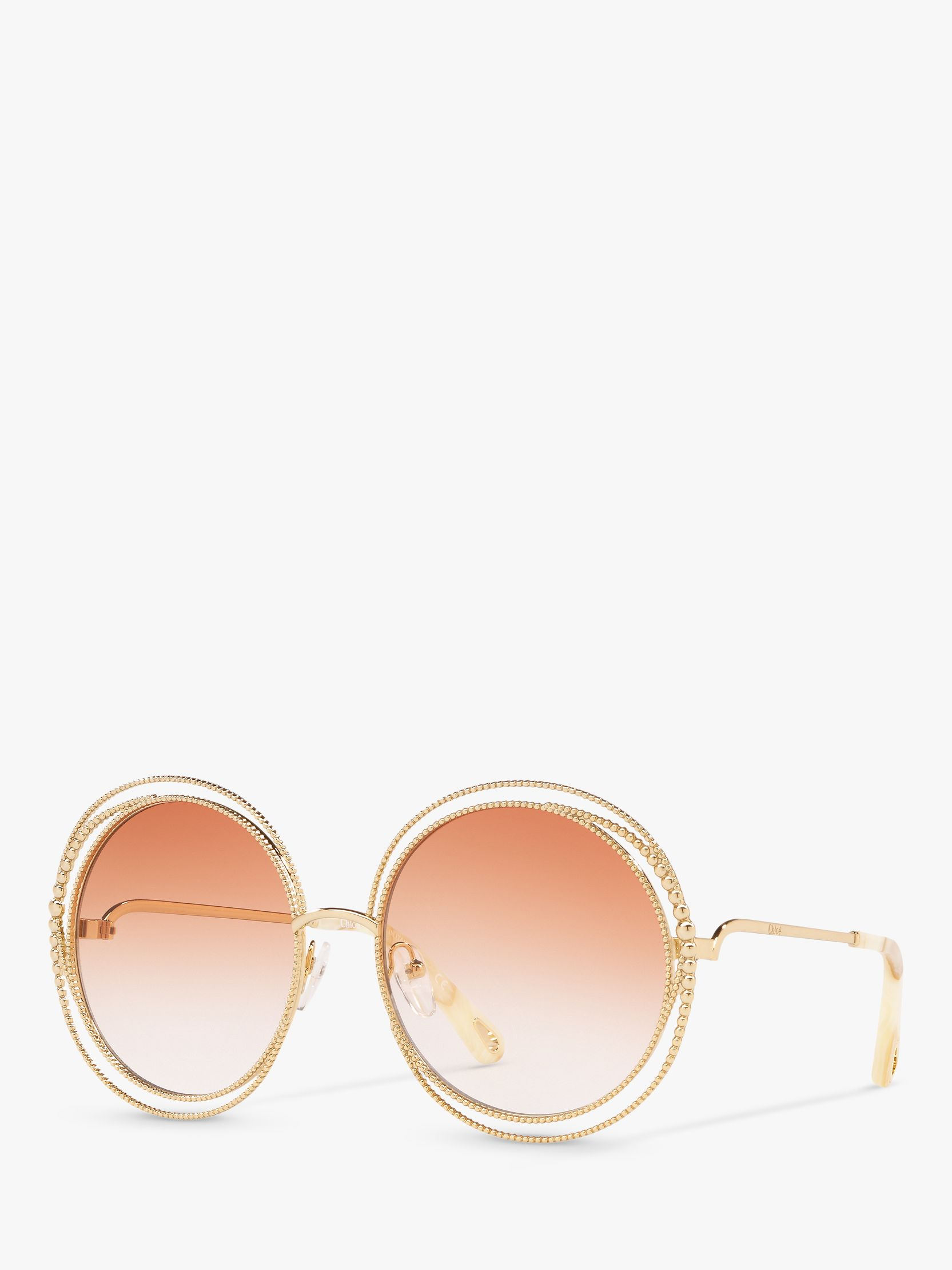 Chloe Chloé CE114SC Women's Round Sunglasses