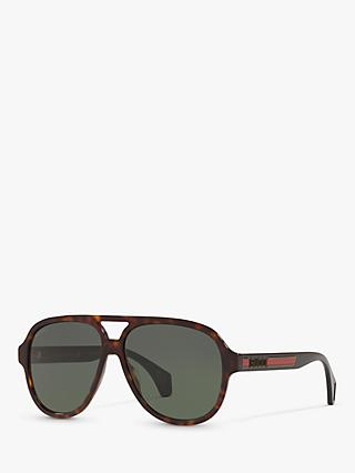 Gucci GG0463S Men's Aviator Sunglasses