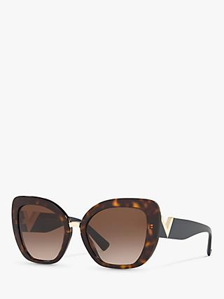 Valentino VA4057 Women's Irregular Cat's Eye Sunglasses