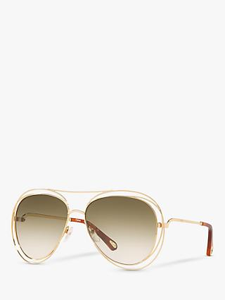 Chloé CE134S Women's Double Rim Sunglasses