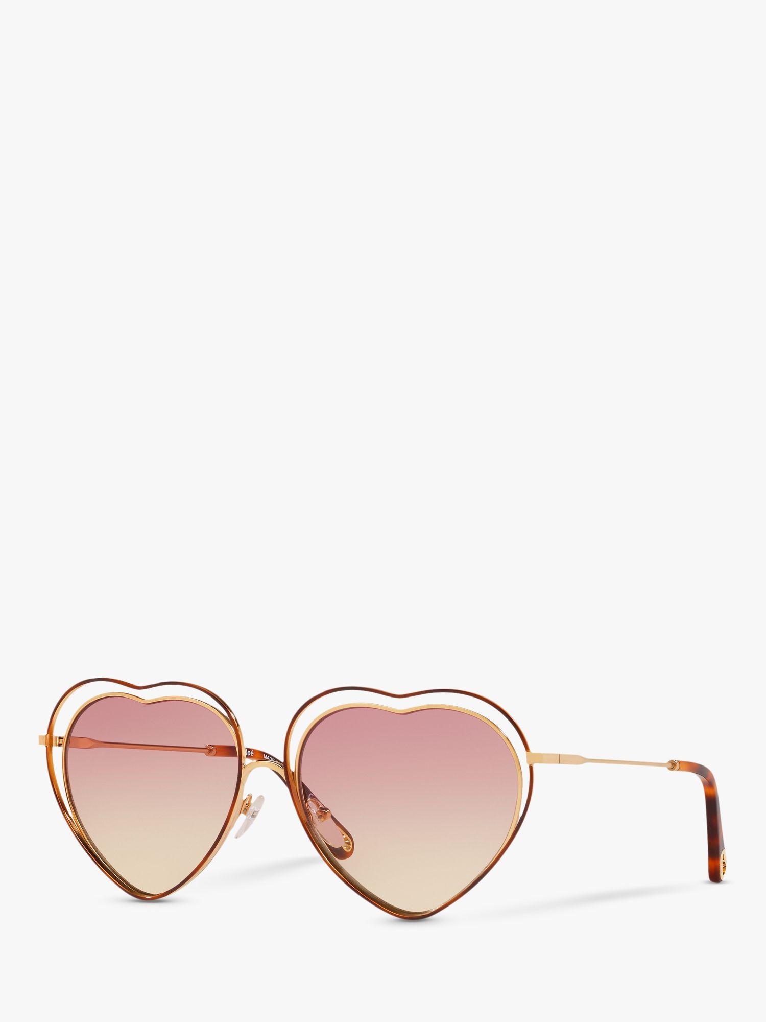 Chloe Chloé CE131S Women's Heart Shaped Butterfly Sunglasses