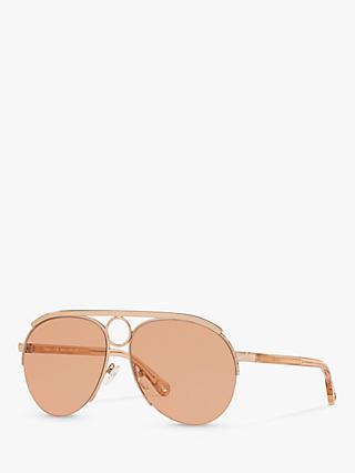 Chloé CE152S Women's Aviator Sunglasses