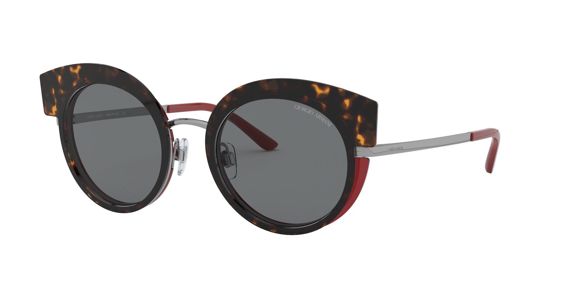 Giorgio Armani Giorgio Armani AR6091 Women's Round Sunglasses