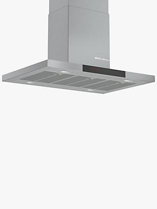 Bosch Serie 6 DIB98JQ50B 90cm Island Cooker Hood, A+ Energy Rating, Grey