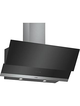 Bosch DWK095G60B Chimney Cooker Hood, C Energy Rating, Black