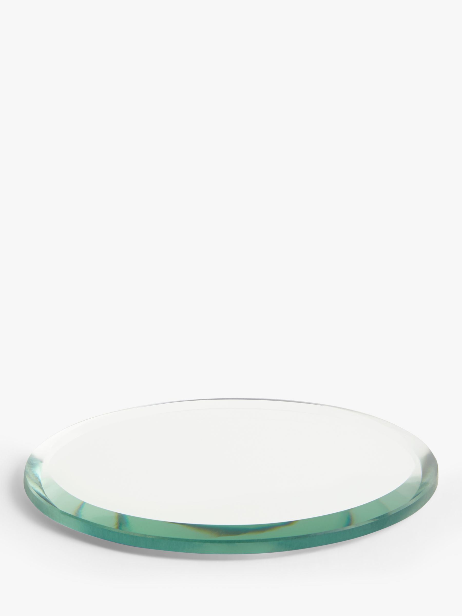 John Lewis & Partners Mirror Candle Plate, 10cm