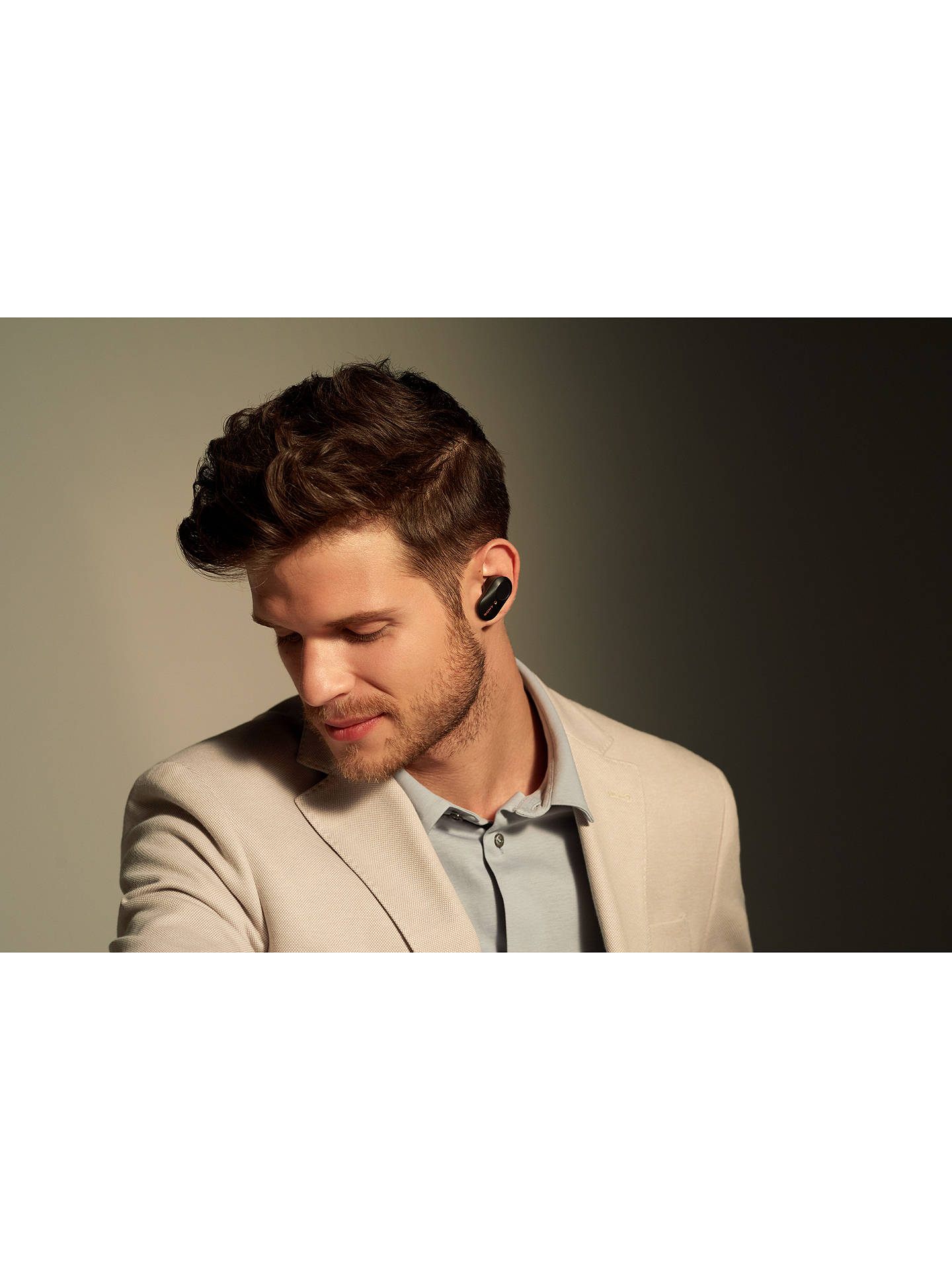 Buy Sony WF-1000XM3 Noise Cancelling True Wireless Bluetooth NFC In-Ear Headphones with Mic/Remote, Black Online at johnlewis.com
