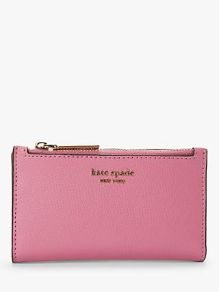 kate spade new york Sylvia Slim Leather Bi-Fold Purse, Pink