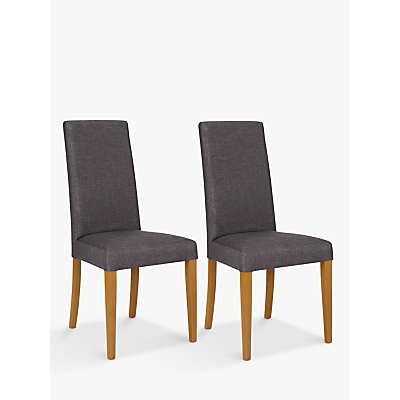 John Lewis & Partners Lydia Dining Chairs, Set of 2, FSC-Certified (Beech Wood), Grey Mix