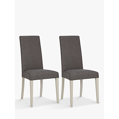 John Lewis & Partners Alba Lydia Dining Chairs, Set of 2, FSC-Certified (Beech Wood), Soft Grey