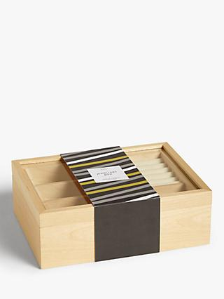 John Lewis & Partners Large Wooden Jewellery Box