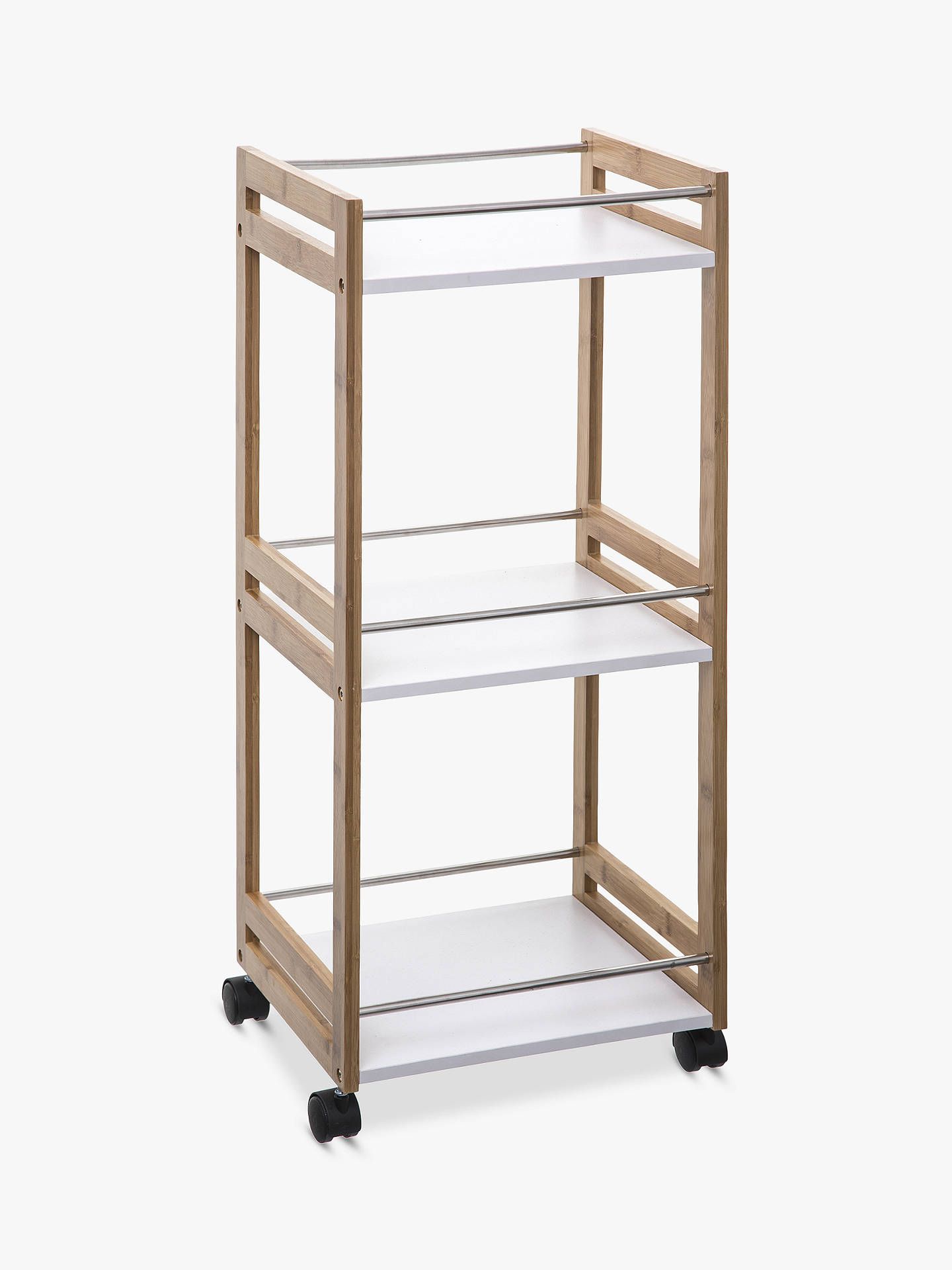 Hahn 5five Small Kitchen Trolley, Bamboo