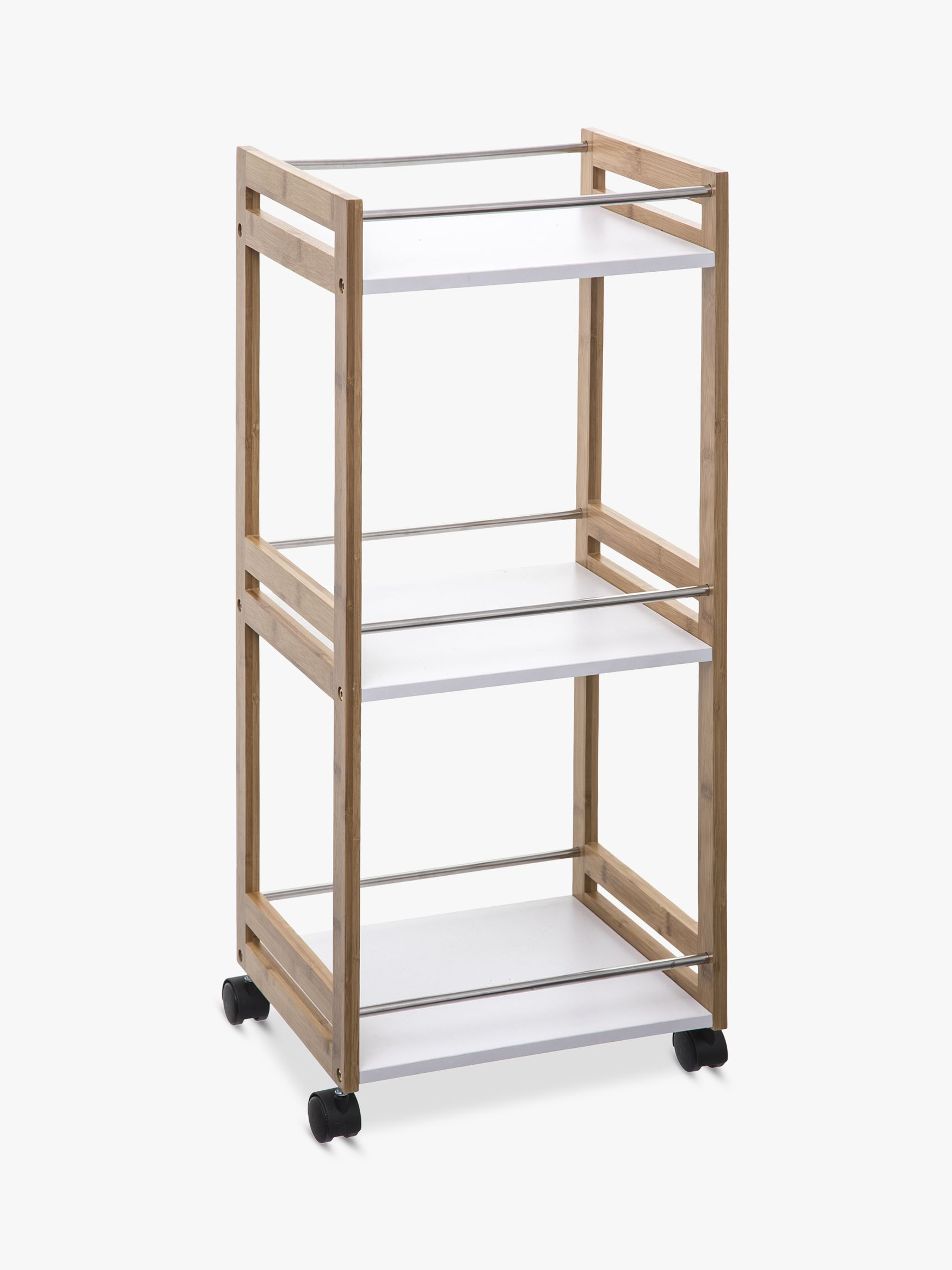 Hahn Hahn 5five Small Kitchen Trolley, Bamboo