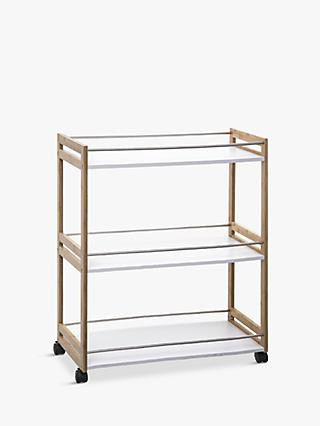 Hahn 5five Large Kitchen Trolley, Bamboo