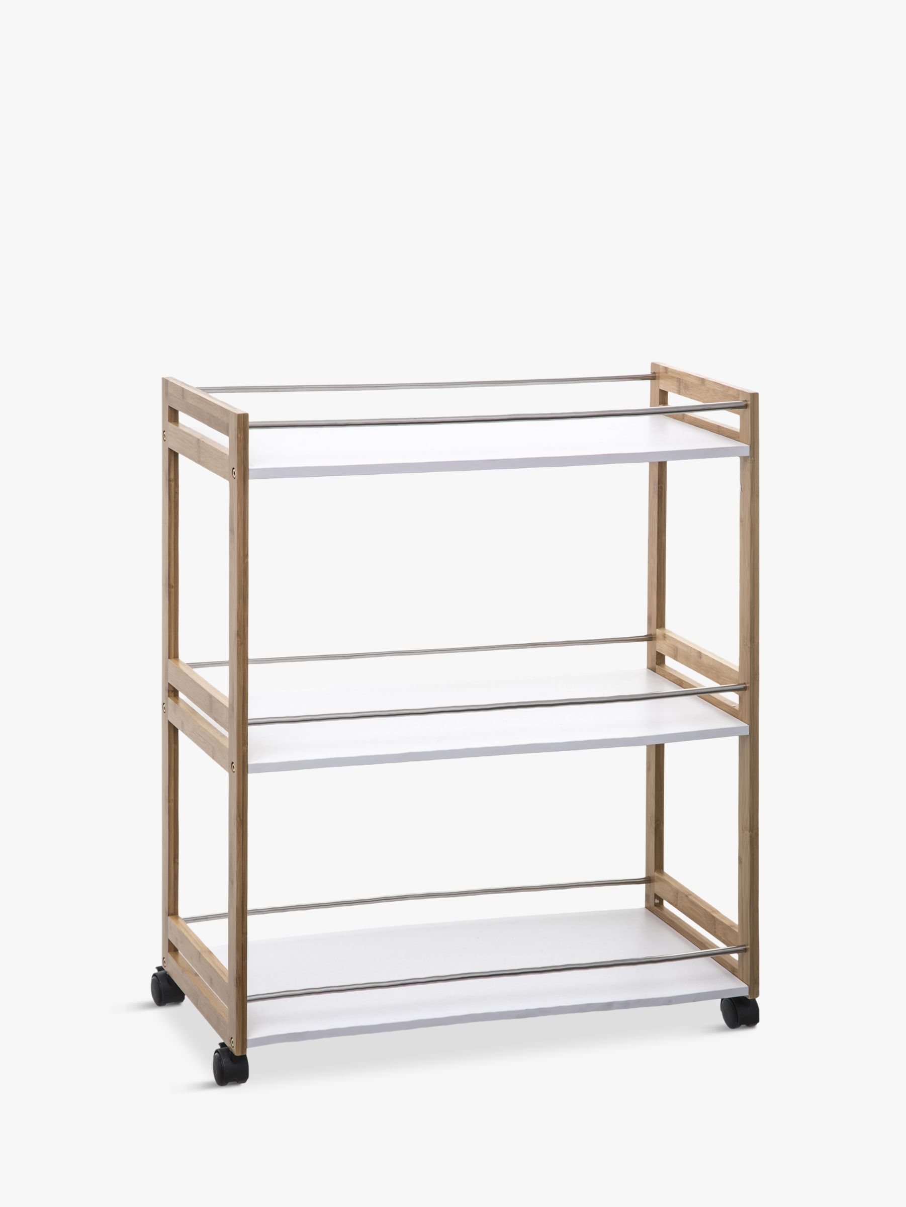 Hahn Hahn 5five Large Kitchen Trolley, Bamboo